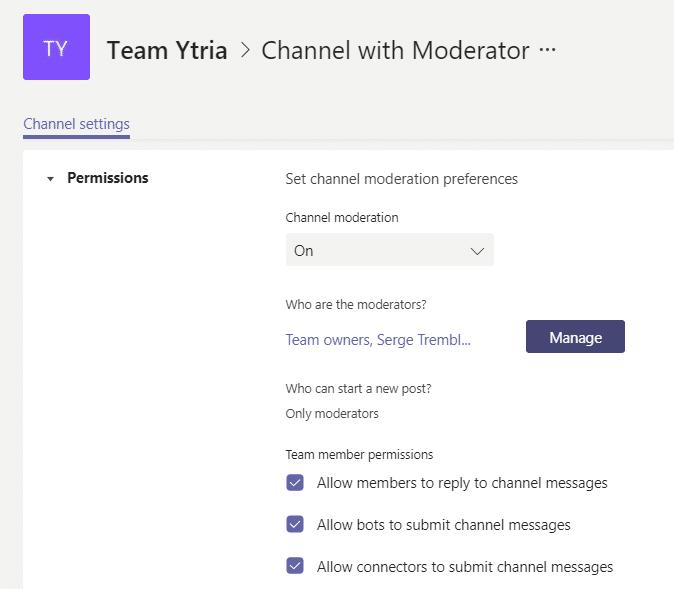 Teams tip - přispívání do kanálu