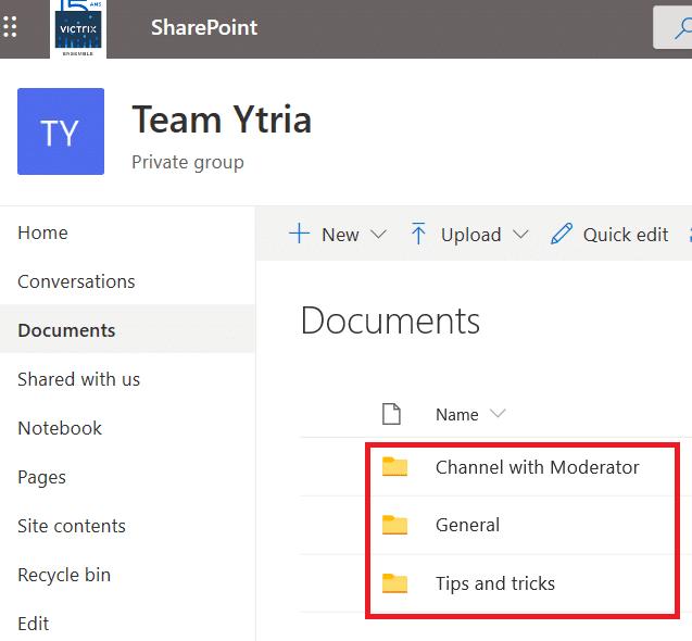Teams Tip - Synchronizace souborů