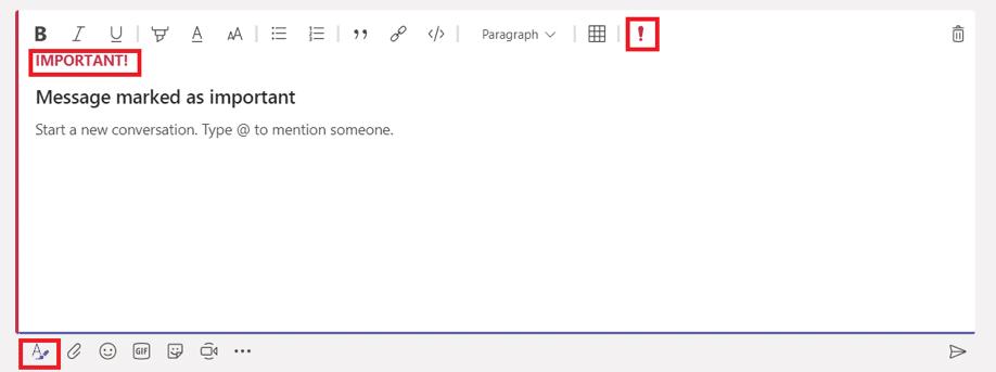 Team tip - Formátování textu