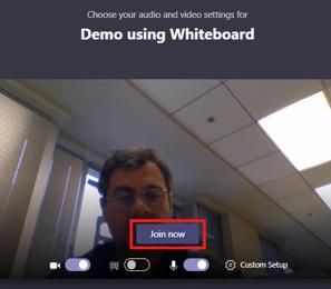 Teams Tip - Použití tabule/ Whiteboardu